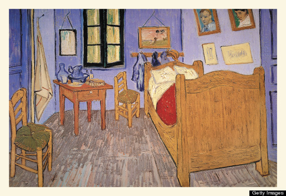 "Vincent Van Gogh's ""Bedroom at Arles"""
