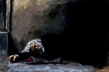 """Fabian Perez - """"Waiting for the Romance to Come Back II"""" My all time favorite painting."""